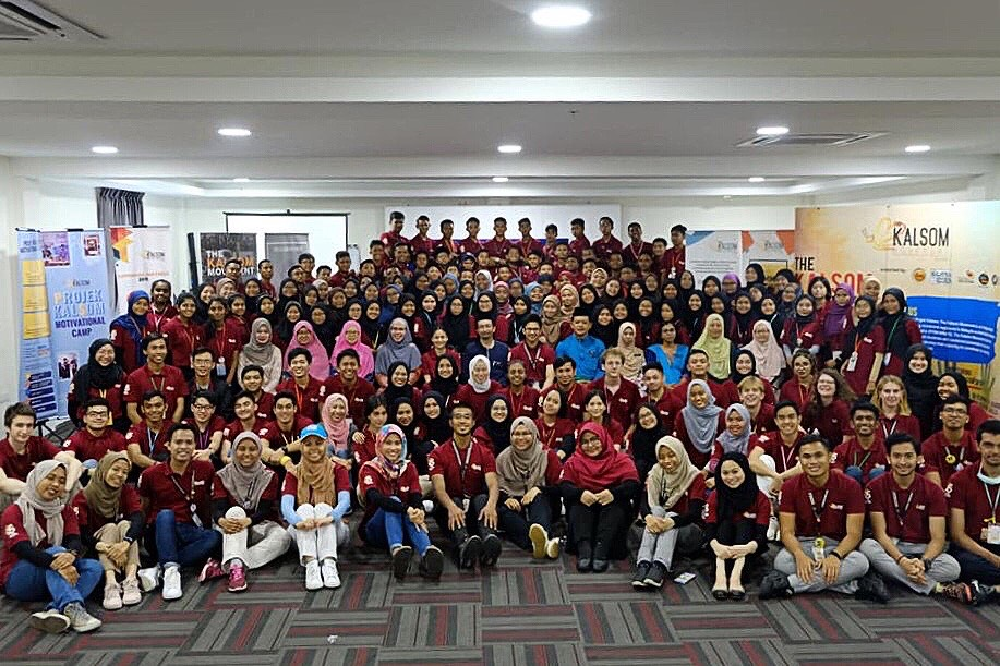 The Kalsom Movement: Transforming Education in Malaysia. Photo shows the 2019 Projek Kalsom Motivational Camp Cohort