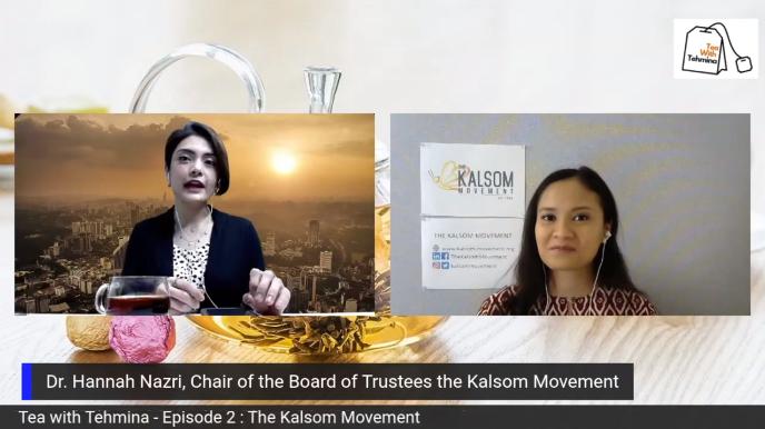 Bernama TV Malaysia 'Tea with Tehmina' Interview Episode 2: The Kalsom Movement
