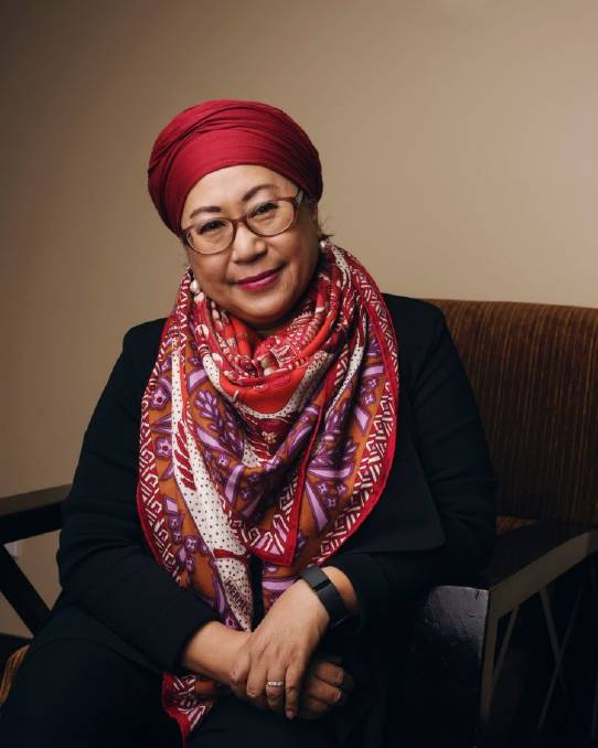 Jemilah Mahmood, founder of Mercy Malaysia and current Under Secretary General for Partnerships of the International Federation of Red Cross and Red Crescent Societies (IFRC).